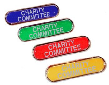 CHARITY COMMITTEE bar badge